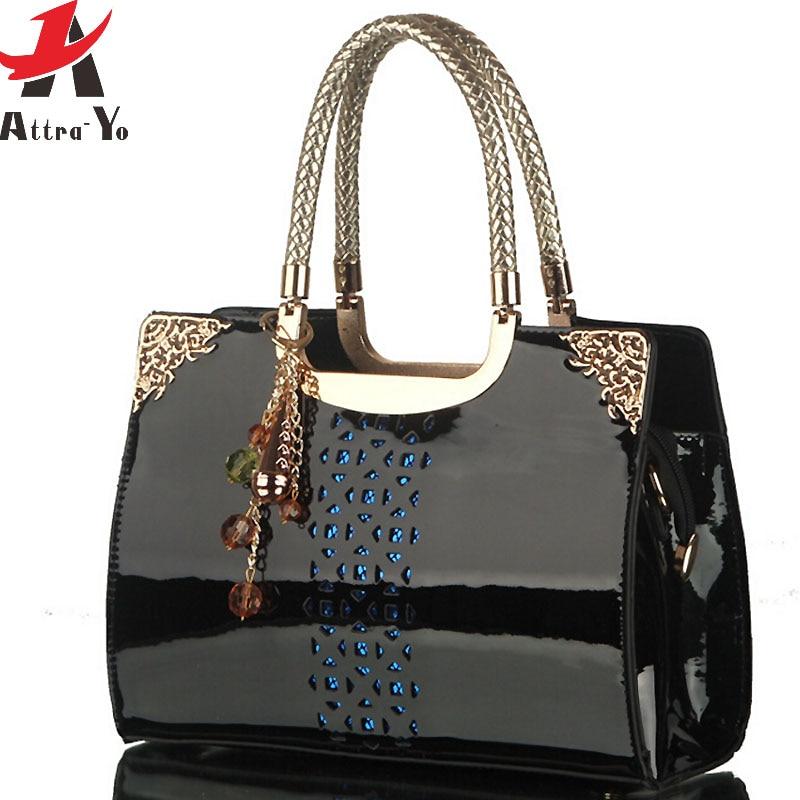 Patent Black Handbag Promotion-Shop for Promotional Patent Black ...