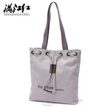 Neue Heiße frauen Schulter Handtasche Weiblichen Leinwand Einkaufstasche Brief Drucken Strand Taschen Für Mädchen Handtasche Bolsa Feminina