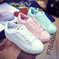 Women Shoes New Autumn Winter PU Leather Shoes Women Casual Shoes Fashion Candy color Women Flat with Shoes