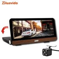 Bluavido 8 дюймов 4G Android автомобильный dvr камера gps FULL HD 1080p Dash Cam навигация ADAS двойной объектив Автомобильный видео регистратор удаленный монитор