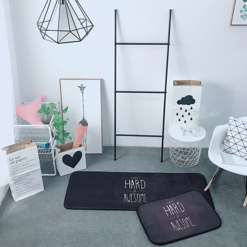 US $15.28 |Nordic Modernen Teppich Schlafzimmer Terrasse Boden Teppich und  Teppiche Schlafzimmer Foyer Außen Matten Dekoration Teppiche-in Teppich aus  ...