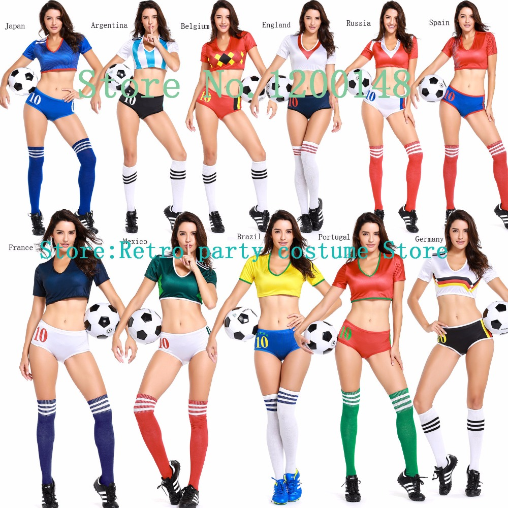 Sexy football adult costume