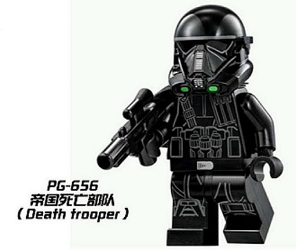 Super Heroes Imperial Death Trooper Star Wars  Building Blocks Education Learning Toys Christmas Gift For Kids PG656 building blocks super heroes back to the future doc brown and marty mcfly with skateboard wolverine toys for children gift kf197