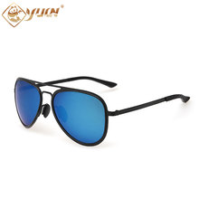 Newest 2017 sunglasses men classic polarized driving sun glasses high fashion stainless steel eyewear oculos de sol A228