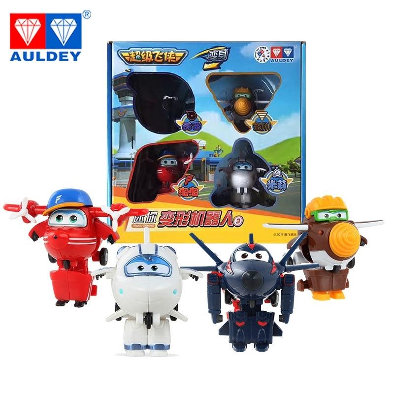 4 unids / set Mini Súper Alas de Alta Calidad Original JETT DIZZY - Figuritas de juguete - foto 3