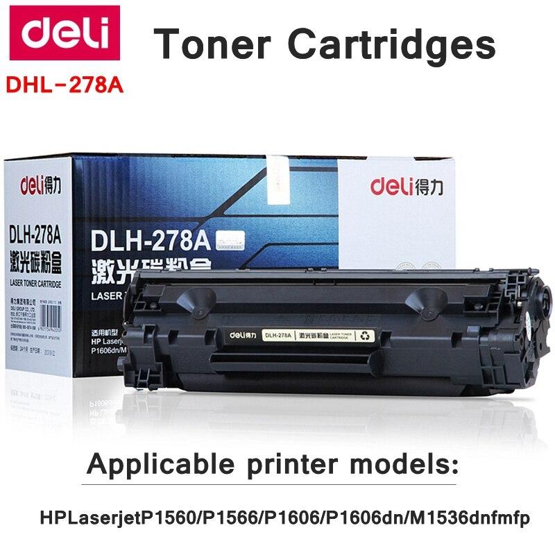 Deli-278A Tonerkartuschen Für HPLaserjetP1560/P1566/P1606/P1606dn/M1536dnfmfp druckkassetten mit 100g toner 2100 seiten