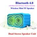 2.0CH Stereo Wireless Bluetooth 4.0 Mini Speaker Support TF Card AUX Speakers APE / FLAC Non-Destructive Audio Play Soundbox