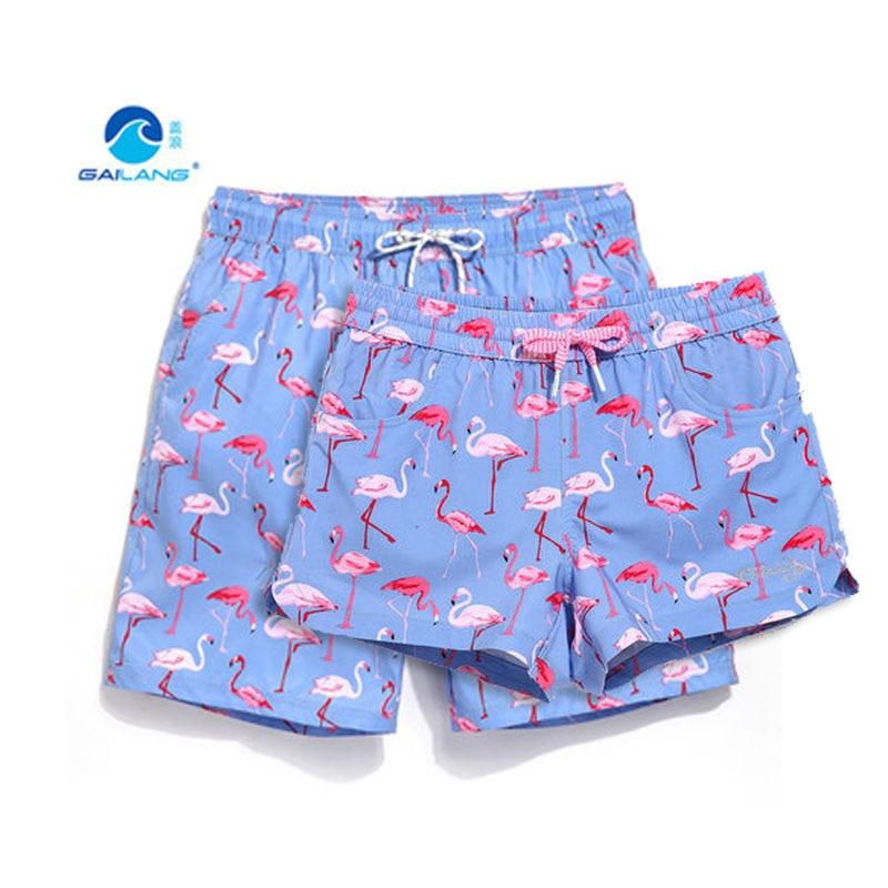 Summer   board     shorts   couples beach surfing liner swimwear plus size quick dry mens women swimming trunks Bermuda bathing suit
