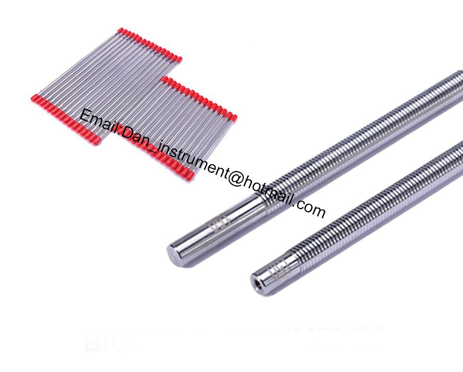 High quality Stainless steel formed Rods,wire ink bar ,wire bar coater stainless steel material aaron wire bar effective coating width 200mm scraping ink bar