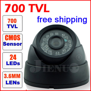 cctv camera 700tvlcmos  best price cmos 960h high resolution video cameras indoor dome infrared sensor security surveillance best price 700tvl cmos 960h 36pcs ir leds day night waterproof indoor outdoor cctv camera with bracket free shipping