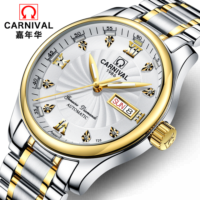 2018 New Fashion Casual Men Automatic Mechanical Luxury Watches Waterproof Relogio Masculino Montre Homme Marque De Luxe Clock