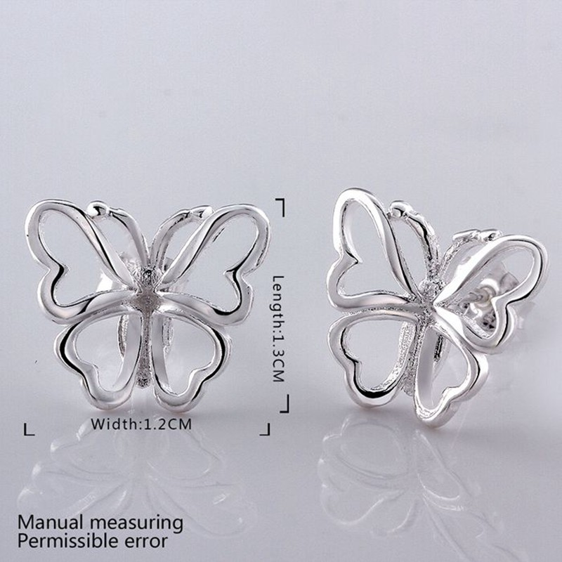 fashion jewelry Earring For Women Silver Plated Earrings ZUFMFPOS IOHHJIMI