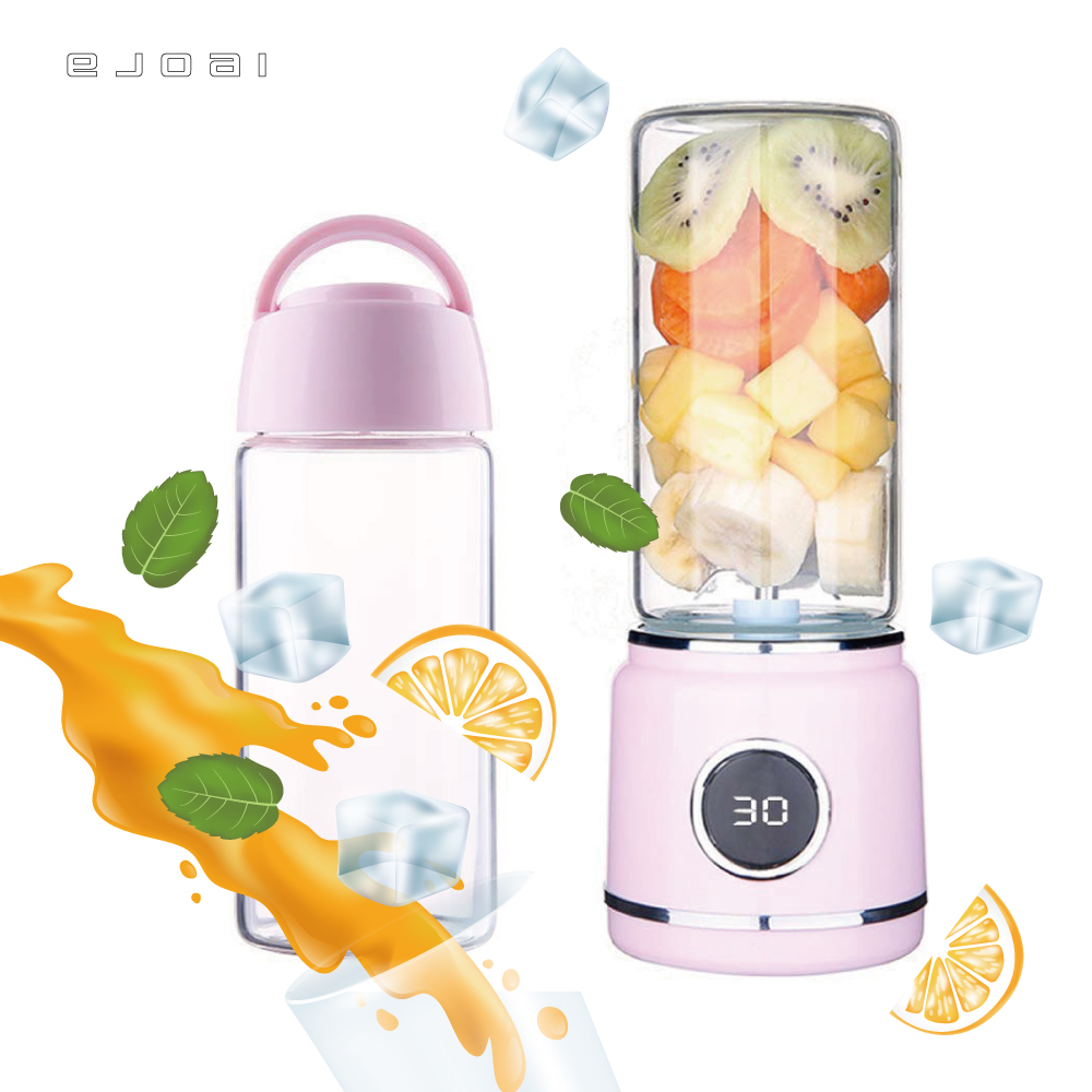 500ml USB Rechargeable Batteries Detachable Cup Portable Juicer Personal Blender Mixer Shaker Fruit Vegetable Juice Machine