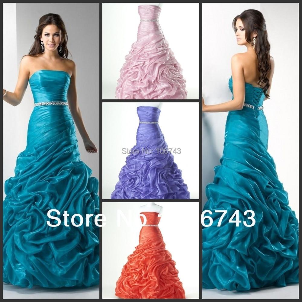 Livraison gratuite thème 2018 maxi long nouveau mode vestidos de fiest perlée sirène vraies robes de bal robes de demoiselle d'honneur