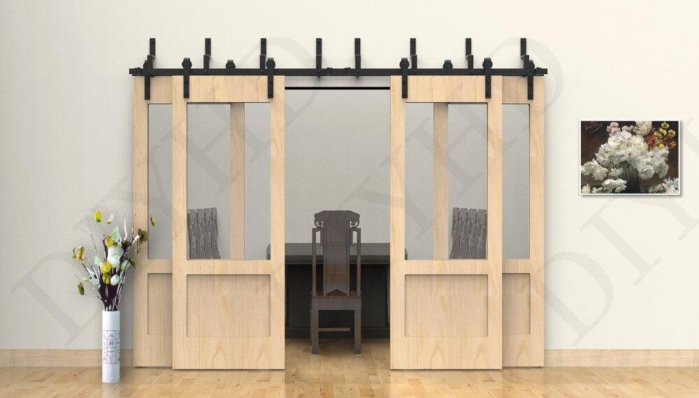 Online get cheap closet doors wood for Bypass barn doors