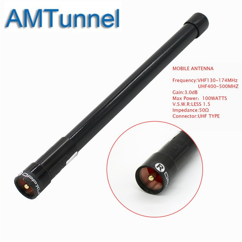 <font><b>Car</b></font> antennaVHF UHF Dual Band <font><b>144</b></font> <font><b>430MHz</b></font> <font><b>antenna</b></font> Fiber Glass Aerial for <font><b>Car</b></font> Mobile Radio Transceiver image