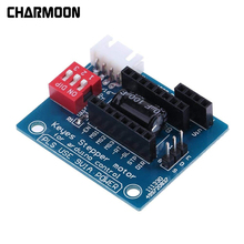 цена на 3D Printer A4988 DRV8825 Stepper Motor Driver Control Panel Board Expansion Board