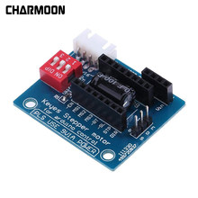 3D Printer A4988 DRV8825 Stepper Motor Driver Control Panel Board Papan Ekspansi(China)