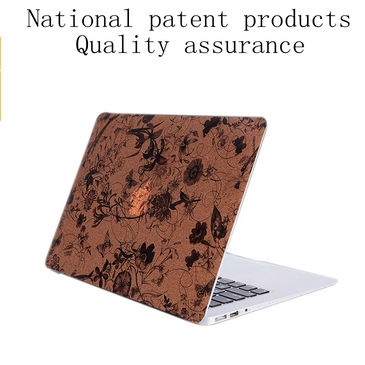 National patent Removable PU Decal Sticker For Macbook 12Air 13.3por15.4 por13.3laptop sticker Fro macbook sticker ...