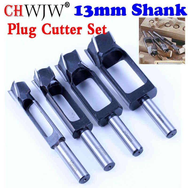 8mm-40mm Woodworking Drill Bit Tapered Snug Tenon Dowel Plug Cutter 13 K