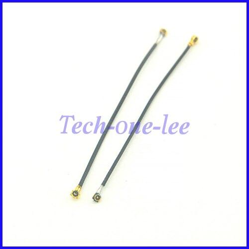 imágenes para 2 unid/lote MHF4 cuarta Generación IPEX Conector IPX Macho a u. fl/ipx cable de Extensión Femenino 0.81 Pequeño Bloque de Terminales 5 cm