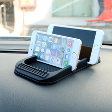 Universal Non-slip Pad with Numbers Parking GPS Holders Phone Holder Car Dashboard Anti Slip Mat For Key Cell Phone iPhone
