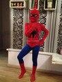 Fantasia Infantil Crianças Menino Homem Aranha Spiderman Superhero Costume Fantasia Infantil Fantasia Trajes de Halloween Para Crianças Menino