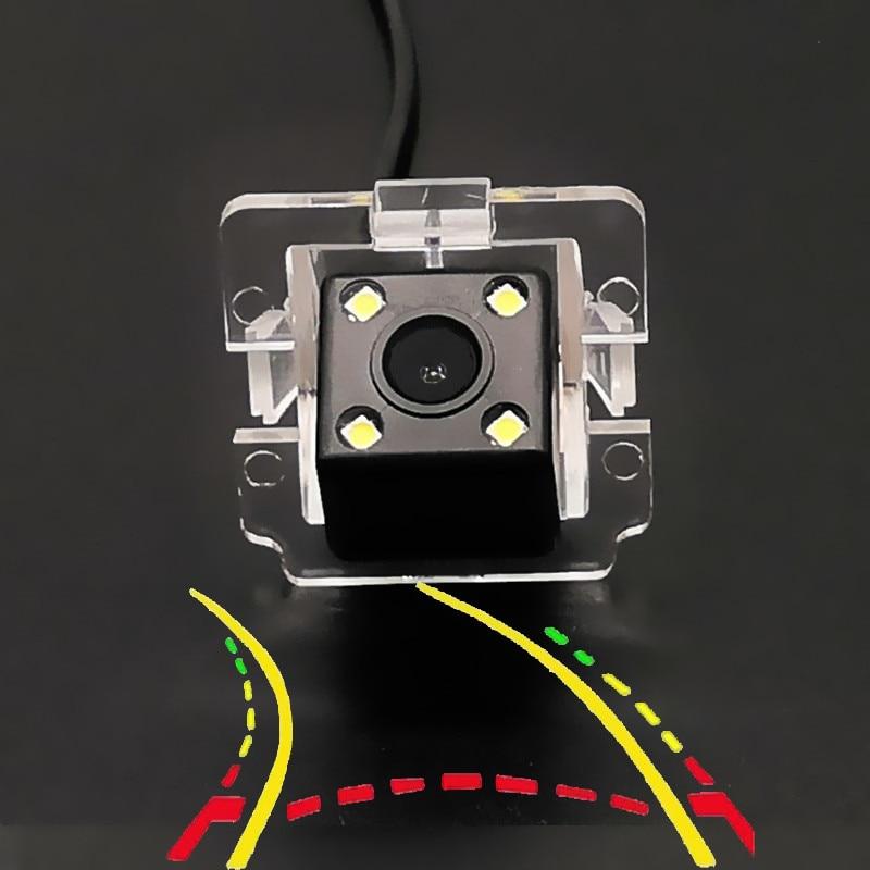 Intelligent Dynamic Trajectory Tracks Car Rear Camera For Mitsubishi Outlander XL GT Airtrek 2006 2007 2008 2009 2010 2011-2013