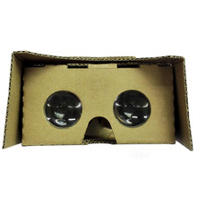 XPFBrand New And High Quality For Google Cardboard V2 3D Glasses VR Valencia Quality Max Fit 6Inch Phone Free Shipping NOA26