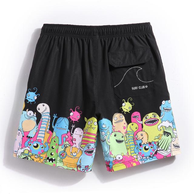 Gailang Brand Sexy Men's Board Shorts Swimwear Swimsuits Beach Boxer Trunks Men Man Bermuda Gay Quick Drying Plus Size 2017 New