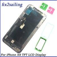 100% протестированный рабочий ЖК дисплей S для Apple iPhone XS TFT lcd сенсорный экран дигитайзер сборка запасные части для XS с подарком