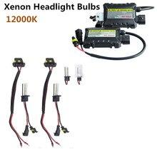 55W H1 HID Xenon Headlight Bulbs Conversion KIT+ Ballasts Vehicle Car Auto 10000K Universal  2PCS/Set