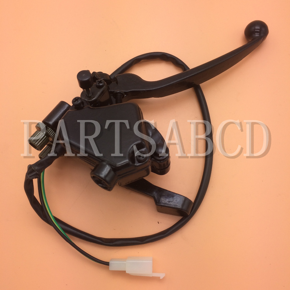Double Brake Lever With Thumb Throttle Lever For Kazuma Falcon 110cc Atv Quad Parts Terrific Value Back To Search Resultshome