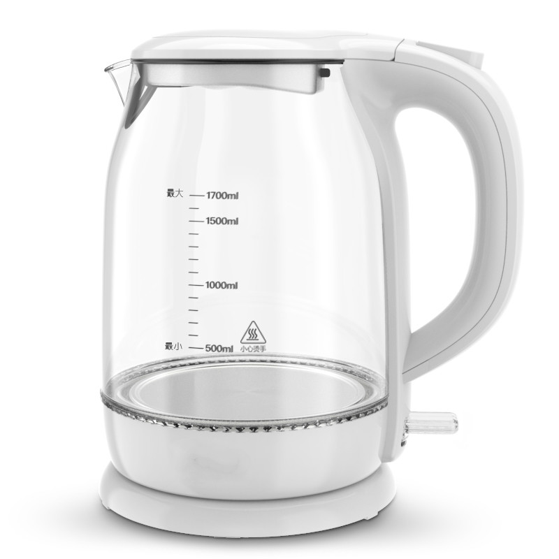 Glass electric kettle household stainless steel 304 food grade 1.7L boiling tea health high boron Anti-dry Protection 1kg food grade l threonine 99% l threonine