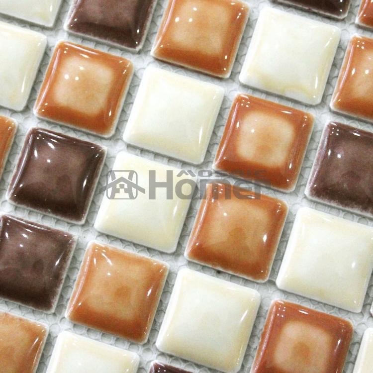 envo libre marrn vidriera azulejos de mosaico de bao de ducha backsplash de la