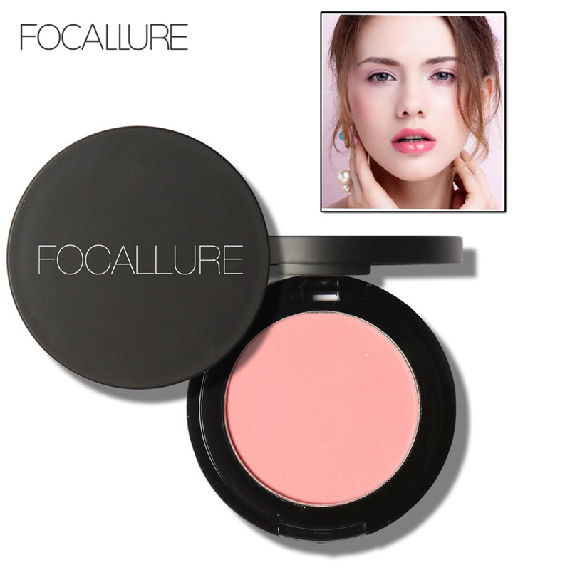 FOCALLURE 11 Colors Mineral Face Blusher Blush Powder Brozer Cosmestics Palette Blush Contour Shadow in Blush from Beauty Health