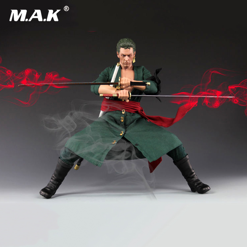 1/6 One Piece Roronoa Zoro Action Figure Collectible Model Toy Gift 12 Action Figure Dolls Collections japanese anime one piece zoro figurine roronoa zoro pvc action figure model toys 26cm