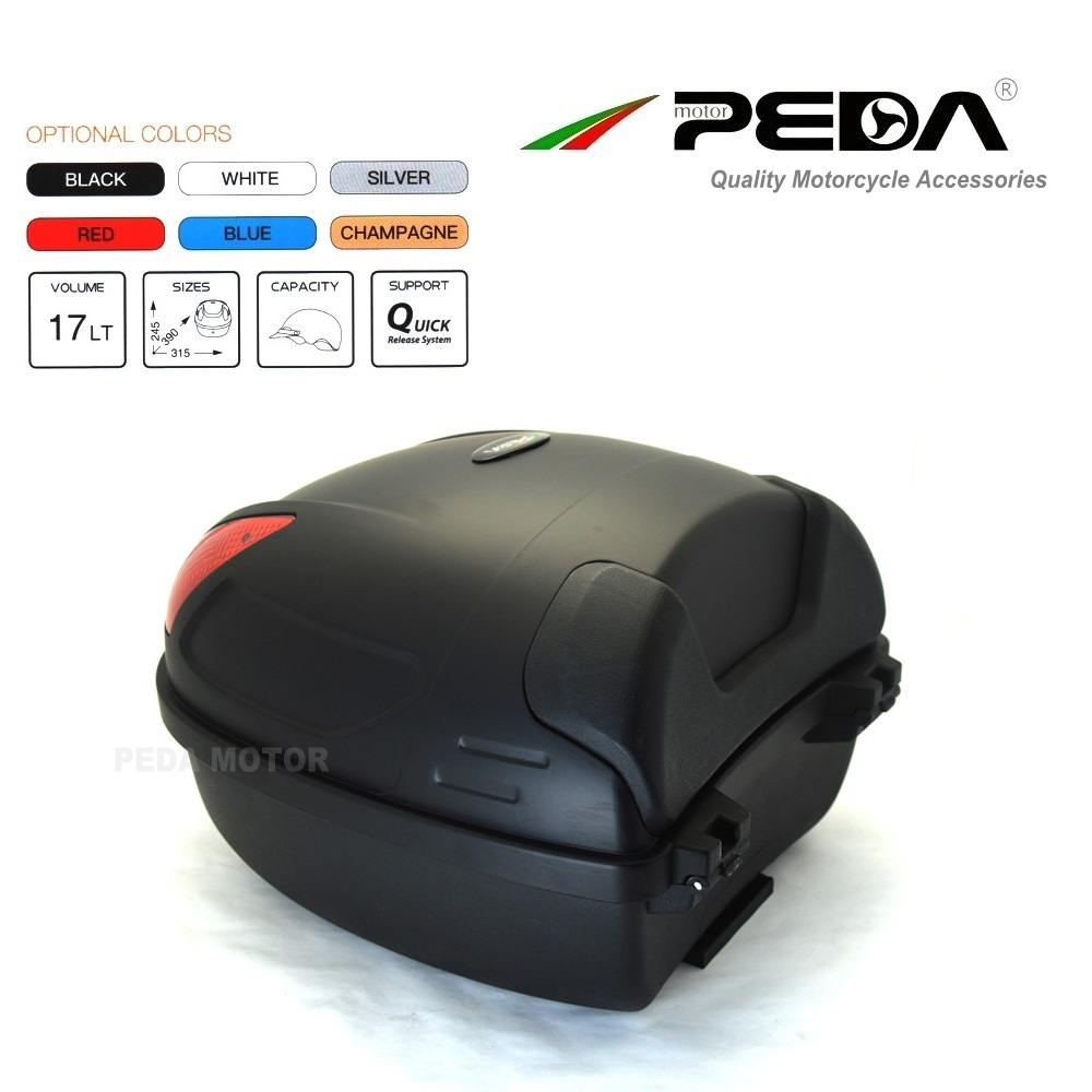 27f7476863e 2019 e Bike box ebike luggage Electric Scooter Trunk Motorcycle Top ...
