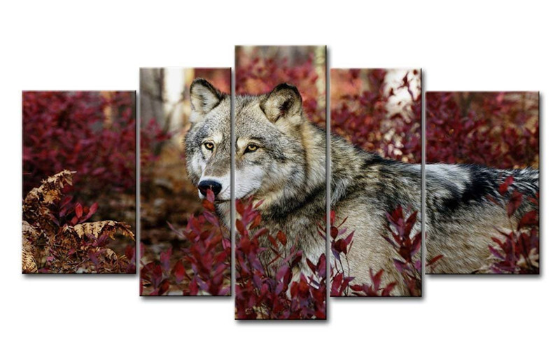 Popular Wolf Art Paintings Buy Cheap Wolf Art Paintings lots from