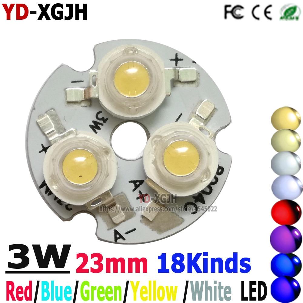 20pcs  1W//3W High Power LED Aluminum Base Plate 23mm