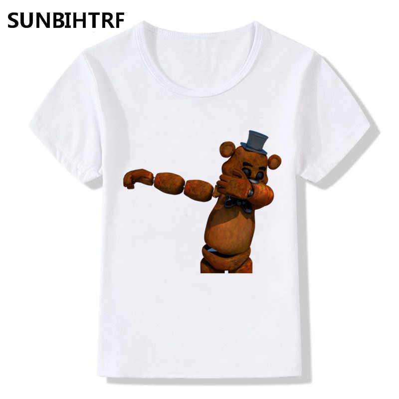 44602a87a0 ... Children Dabbing Animal Cartoon Funny T-Shirts Kids Summer Tops Girls  Boys Short Sleeve T ...