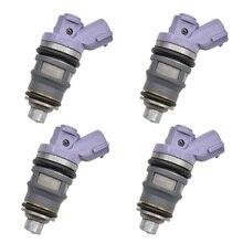 4pc/lot Fuel Injector Nozzle For TOYOTA Previa 1991-1997 2.4L L4 Estima OEM:23209-79045 23250-76010 2320979045 2325076010