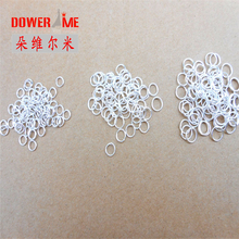 DOWER ME 4MM 500pcs Sterling Silver Open Jump Ring Silver Components DIY Jewelry 925 silver findings opening rings