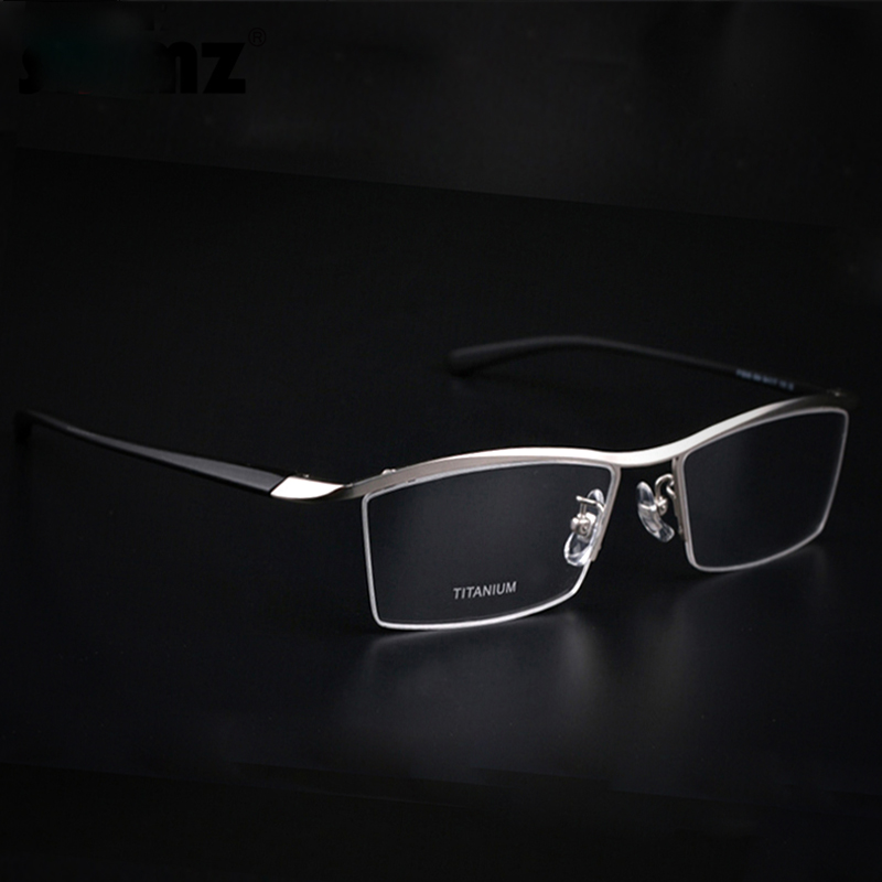 2017 Fashion Titanium rimless eyeglasses frame Brand ...