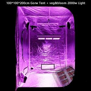 Image 5 - Pflanzen Wachsen Lampe Zelt Box Volle Spektrum 600 w 1200 w 2000 w Für Innen gewächshaus Hydrokultur Samen und blüte led wachsen licht