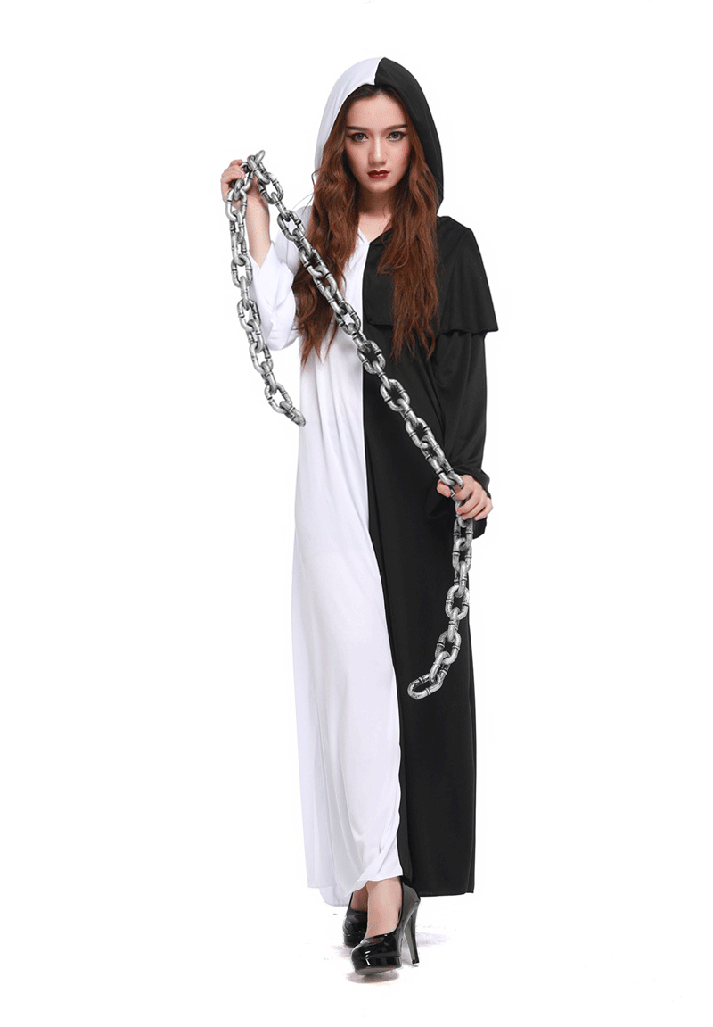 Halloween Party China Grim Reaper Costume Man Women Couple
