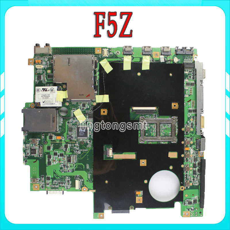 Original F5Z For Asus X50Z laptop motherboard system motherboard fully tested 100% working laptop motherboard for asus u50vg system board fully tested