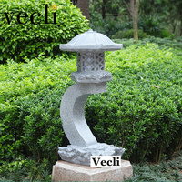 New imitation stone lawn lamp garden villa courtyard outdoor decorative lights waterproof landscape lighting