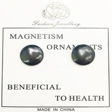1 Pair Healthy Stimulating Acupoints Stud Earring for Women Bio Magnetic Therapy Weight Loss Earrings Magnet in Ear Slimming