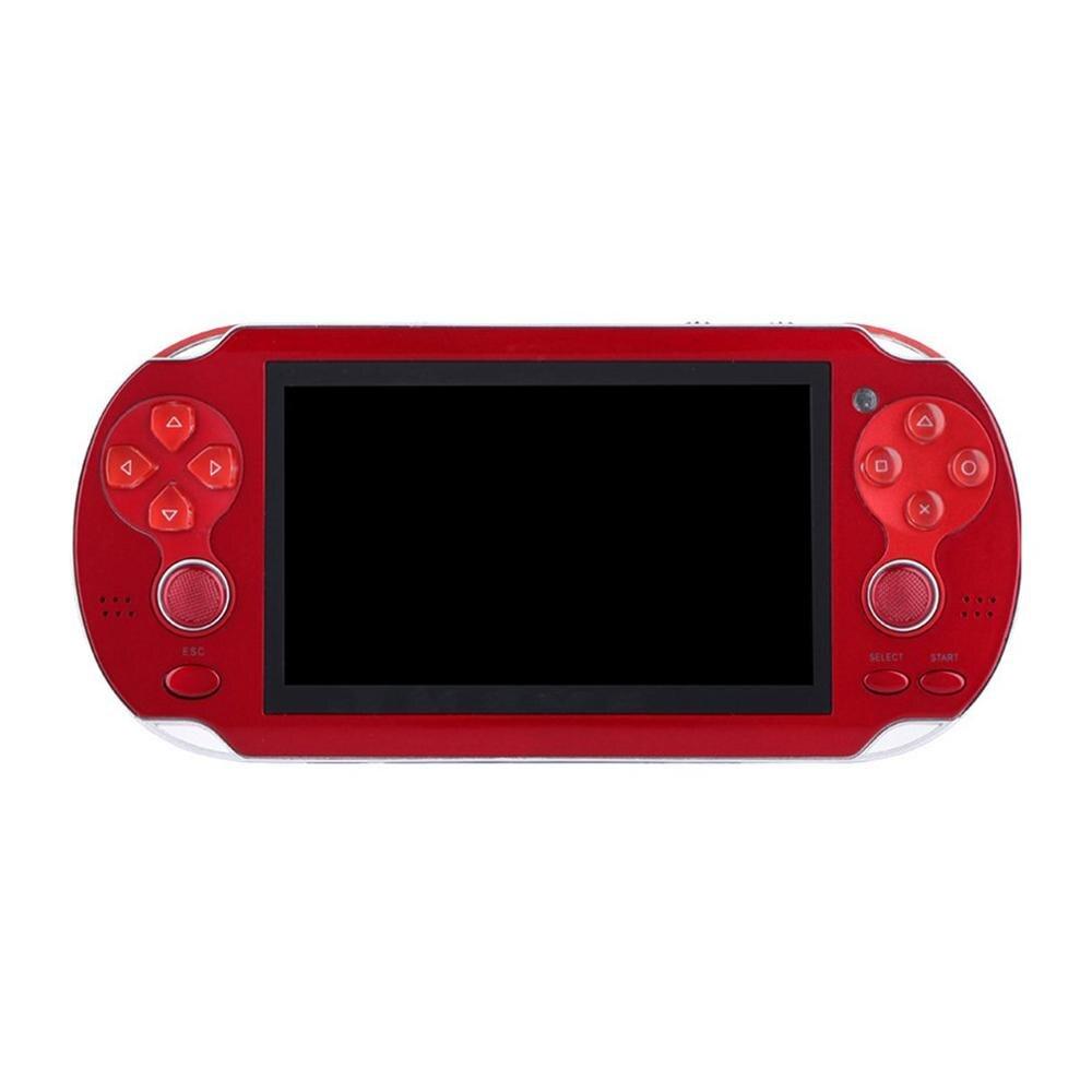 Rétro Portable Console de jeu vidéo contrôleur de jeu X7 4.3 pouces double Rocker écran de poche Console de jeu exquisement conçu